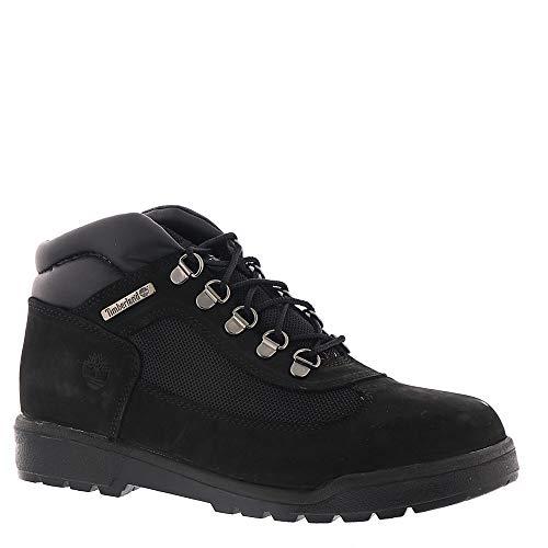 Timberland Kids Unisex Fabric/Leather Field Boot (Little Kid) Black Waterbuck Nubuck 1 M US Little Kid M Big Kid Field Boot