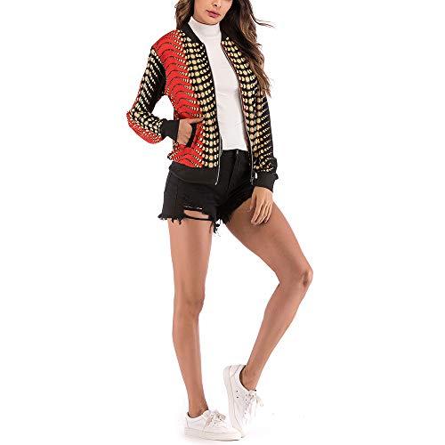 Maglione Shirt di Lunghe Liquidazione Stampa Maniche T Vendita Elegante Camicetta Camicette Pullover di Casual di Nero Casual Pullover Donna Moda Tops 8OxZWw