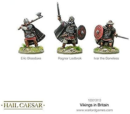 Hail Caeser Vikings In Britain Blister Metal