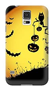 Custom New Style Halloween fashionable TPU Cellphone Protector Cover Case for Samsung Galaxy s5