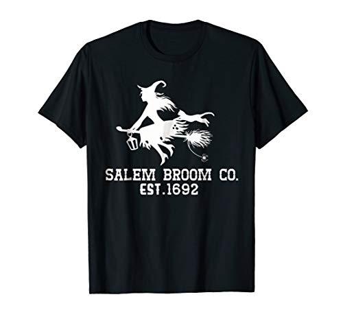 Salem broom co est 1692 Halloween Costume Shirt ()