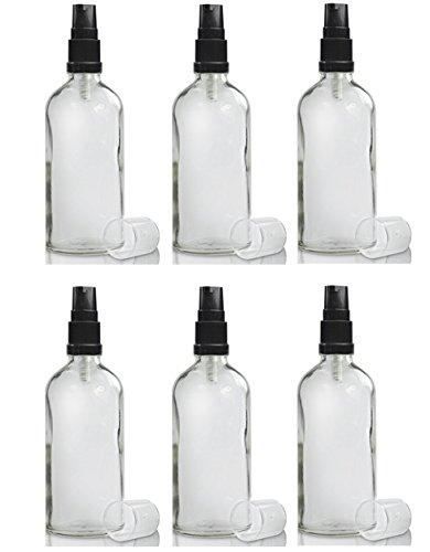 50 ml claro botellas de cosméticos/farmacéuticos de vidrio (18 mm) el cuello