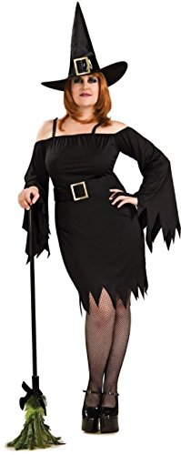 Cute Plus Size Witch Costumes (Wicked Witch Womens Halloween Costume Secret Wishes Sexy Cute Plus Size Costume)