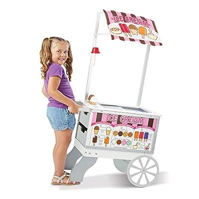 Melissa & Doug Snacks & Sweets Food Cart: Melissa & Doug: Toys & Games