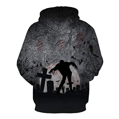 Lover's Halloween Longues Couples Mode Top Chemises Blouse Bellelove Imprimer Capuche Manches Women 3D Men Sweat Hoodies E Hoodies dq7xcPw1v7