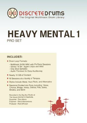 - Sonoma Wire Works DDHM1PRO Discrete Drums Heavy Mental 1 Pro Set