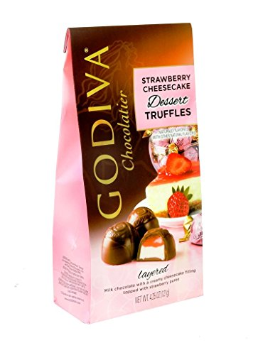 Strawberry Cheesecake Dessert - Godiva Strawberry Cheesecake Dessert Bag , 1 Count (CHOC. CANDY - PREMIUM)