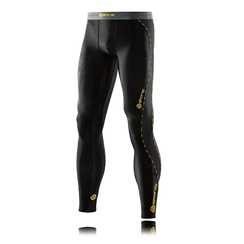 SKINS Men's DNAmic Compression Long Tights, Black, X-Small by Skins (Image #3)