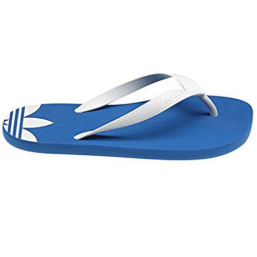 Adidas ADIFLIP J - Infradito di taglia UK 29, colore blu/bianco