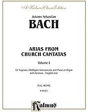Soprano Arias from Church Cantatas (Sacred), Vol 1: German, English Language Edition