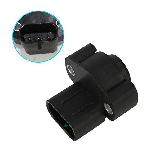 Throttle Position Sensor TPS fit 4761871AC for Dodge Dakota Caravan Viper B250 B3500 W350 D150 Ram 1500 2500 Plymouth Voyager Jeep Wrangler Cherokee Chrysler 1994 1995 1996 1997 2.5L 5.2L ()