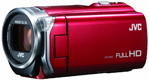 JVCKENWOOD JVC ビデオカメラ EVERIO GZ-E565 内蔵メモリー32GB ローズレッド GZ-E565-R