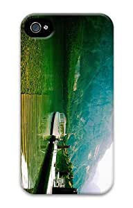 case crazy Lake Saint Marys PC Case for iphone 4/4S