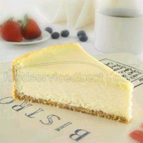Sweet Street New York Cheesecake, 16 Slice -- 4 per case.