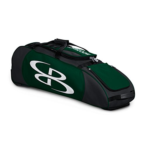 Boombah Spartan Rolling Baseball/Softball Bat Bag - 38
