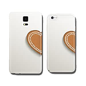 gingerbread heart love card paper 3D natural vector cell phone cover case iPhone6