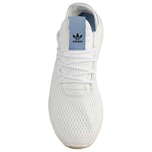 Adidas Originali Mens Pharrell Williams Razza Umana Bianco / Bianco / Blu 13 D Us