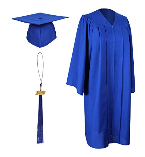 c1bc486d00c GraduationForYou Matte Graduation Gown Cap Tassel With 2019 Year Charm