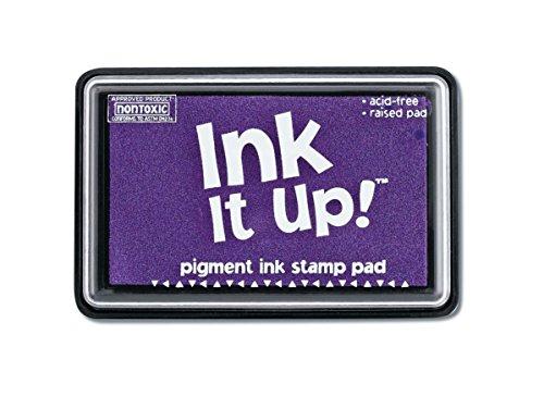 (Darice Pigment Ink Stamp Pad, Lavender)