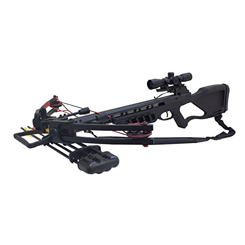 SAS Chopper 175 Crossbow 4×32 Scope Package Review