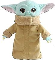 Baby Yoda Plush Toy, The Mandalorian Child Plush Stuffed Pillow Buddy Featuring Baby Yoda