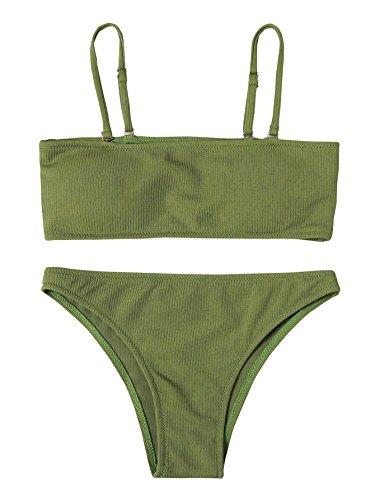 SweatyRocks Women's Sexy Bikini Set Removable Strap Wrap Pad