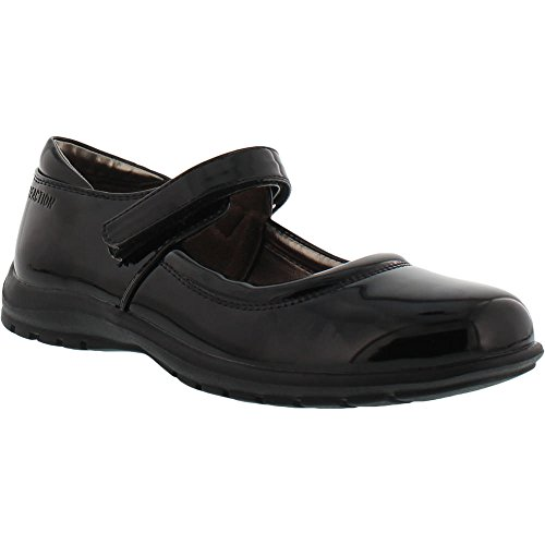 Kenneth Cole REACTION Girls' Dolly School Mary Jane, Black Patent, 1 M US Little Kid for $<!--$47.88-->