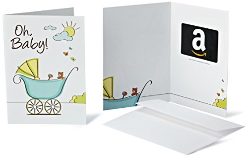 Amazon.com Gift Card in a Greeting Card (Oh, Baby! Design) -