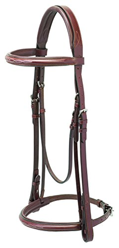 Weaver Leather padded English Bridle with Reins - Leather English Bridle