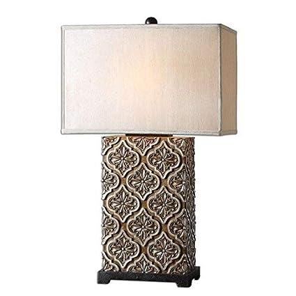 Amazon.com: Uttermost curino lámpara de mesa – 30.5h en ...