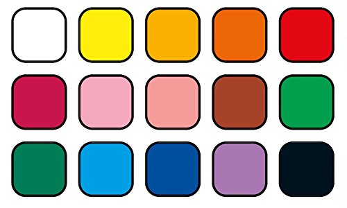 Jovi Plastilina Non-Drying Modeling Clay; 1.75 oz. Bars, Set of 30, 2 each of 15 Colors, perfect for Arts and Crafts Projects Photo #3