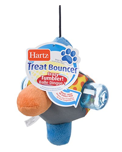Hartz Treat Bouncer Dispensing Dog Toy