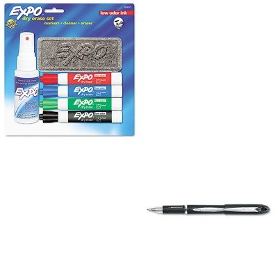 KITSAN33921SAN80653 - Value Kit - Expo Low Odor Dry Erase Marker Starter Set (SAN80653) and Uni-ball Jetstream Ballpoint Stick Pen (SAN33921)