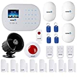 GSM 3G/4G WiFi Security Alarm System-S6 Titan Deluxe Wireless DIY Home and Business Security System Kit by Fortress Security Store- Easy to install Security Alarm