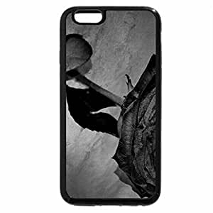 iPhone 6S Plus Case, iPhone 6 Plus Case (Black & White) - nothing is forever...