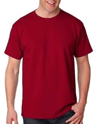 Hanes Tagless 100% Cotton T-Shirt, XL, Cardinal