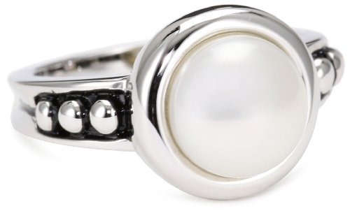 Honora Pallini White Freshwater Cultured Pearl Ring, Size 7 - Honora Pearl Ring
