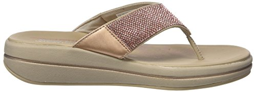 Sandales Rose Upgrades Or Skechers Gold Femme Plateau T514aaq