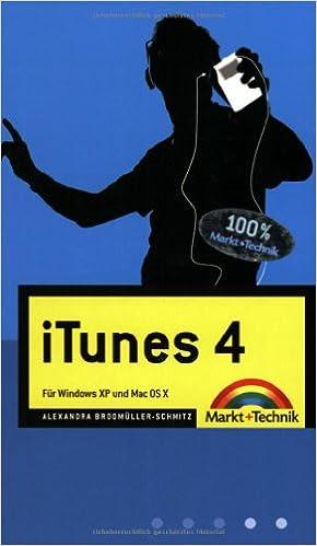 iTunes 4 blau  Für Windows XP und Mac OS X: Alexandra Brodmüller
