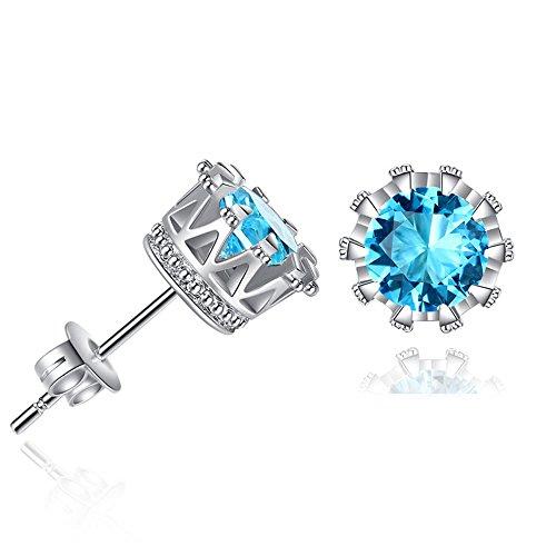 Clearance Deal! Hot Sale! Earring, Fitfulvan 2018 Simple Fashion Diamond Ear Stud Earrings Women Jewelry (Woven Crystal Beaded Ring)