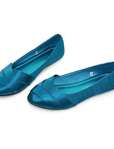 verde us5 Oficina gris Pdx vestido Carrera Zapatos De Uk3 Cn34 Ballerina de casual Y azul Red Seda Taln rojo Negro Flats Mujer Eu35 Plano FwRqaAF