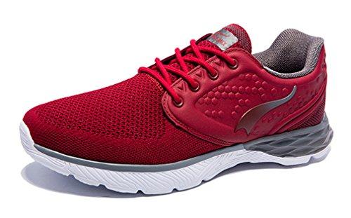 Chaussures Running Date Homme ONEMIX de Red Grey vUdwng