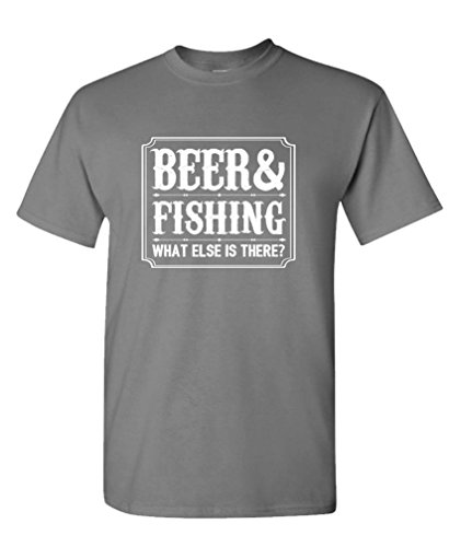 BEER FISHING THERE Cotton T Shirt