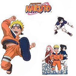 Naruto Anime Wall Stickers and Decals - Boys Room Decor