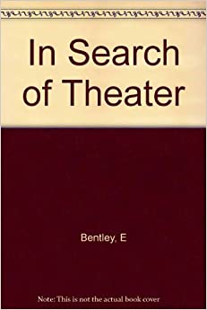 Book In search of theater