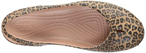 W Multicolore Olivia Ballerine Crocs Graphic Donna II Lprd Leopard 47qcvA