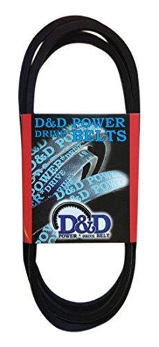 D&D PowerDrive S-481558 SCAG POWER EQUIPMENT Replacement Belt, B/5L, Rubber