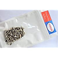 50 Pack Short Silver Pins Paper Fastener 10mm