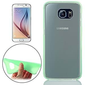 smartprotectors. Ultradelgado Case/Carcasa para Samsung Galaxy S6verde