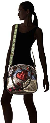 Choice handle Rainbow Over black Bag The Black Top Irregular Women's dwB6qOO